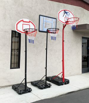 New Kids Junior Basketball Hoop Adjustable Height (3 Sizes: Small $45, Medium $65, Large $75) for Sale in Pico Rivera, CA