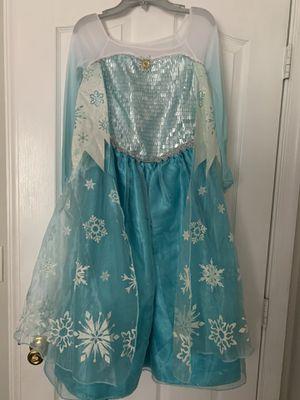Disney Store Elsa costume size 9-10 for girls for Sale in Port St. Lucie, FL