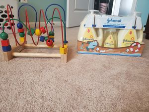 Brand new baby shampoo set$10, baby toy $10 great condition smome free home for Sale in Charlotte, NC