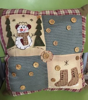 Handmade Christmas Pillow for Sale in Portland, OR