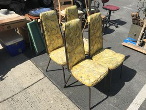 Vintage kitchen chairs for Sale in Fresno, CA