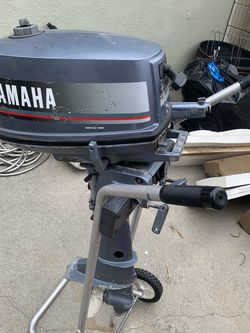 Yamaha 4hp Outboard Boat Motor for Sale in Cypress,  CA