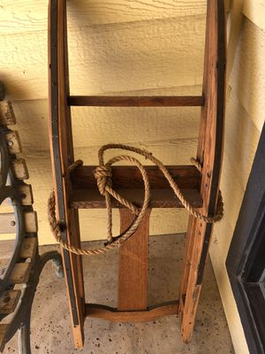 Vintage wooden sleigh for Sale in Fresno, CA