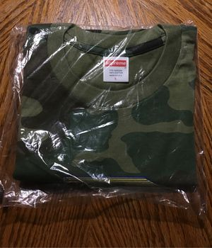 Brand New Supreme - Cheese Tee - Size L, Color Camo for Sale in Virginia Beach, VA