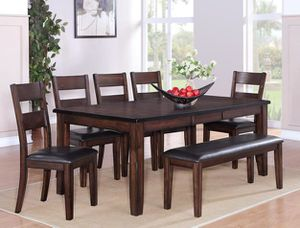 Dining table set 6 pcs $899 for Sale in Victorville, CA