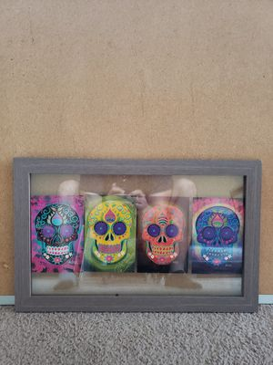 Sugar skull decor - NOT FREE for Sale in Frisco, TX