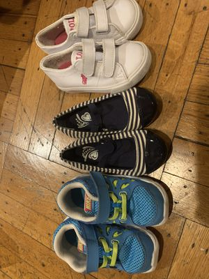 Nike, Polo, and Children Place sneakers and Shoes Size 7 for Sale in Newark, NJ