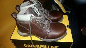 Caterpillar women's steel toe work boots size 7 for Sale in Lexington, MA