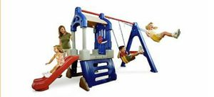 Little tikes swingset clubhouse for Sale in Tampa, FL