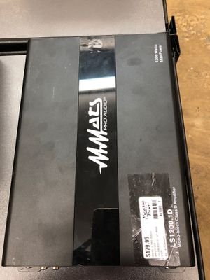 MMats pro audio amp 1200 for Sale in Raleigh, NC