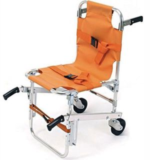LINE2design EMS Stair Chair - Ambulance Firefighter Evacuation Medical Lift Stair Chair with Quick Release Buckles for Sale in Loveland, OH