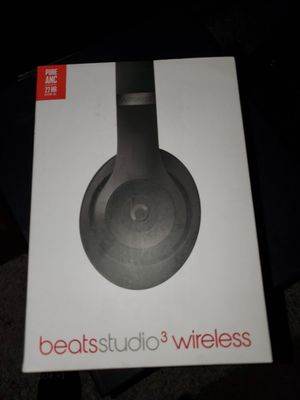 Beats by Dr. Dre - Beats Studio³ Wireless Noise Cancelling Headphones - Gray for Sale in Las Vegas, NV