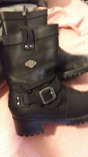 Harley boots size 8 in womens for Sale in Shellsburg, IA