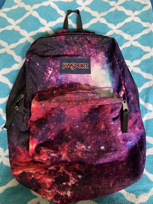 Jansport galaxy backpack used once new condition for Sale in Fresno, CA
