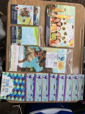 Moana party accessories for Sale in Joint Base Pearl Harbor-Hickam, HI