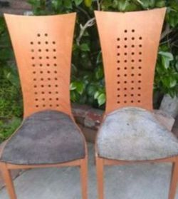 Mid century Italian High Back Chair Set Vintage for Sale in Whittier,  CA