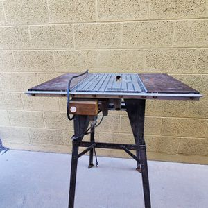 Black & Decker Circular/Table Saw Conversion w/Table for Sale in Peoria, AZ