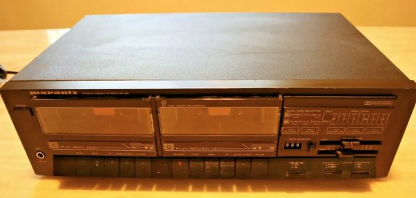 Vintage MARANTZ Stereo Dual Cassette Deck SD 162 Very Rare
