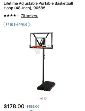 shatterproof basket ball goal for Sale in Thomasville, NC