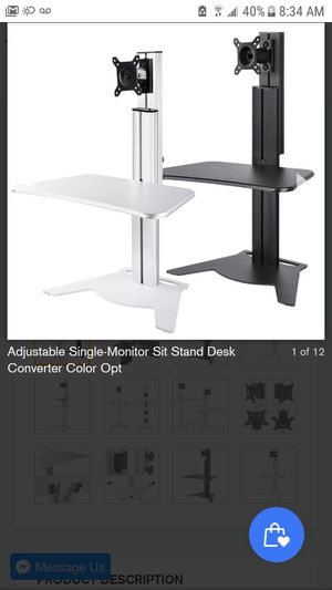 Adjustable sit stand for laptops for Sale in West Covina, CA