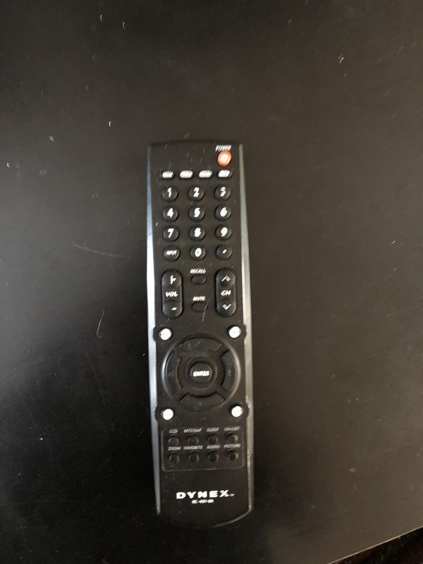 Dynex 26 inch TV with remote