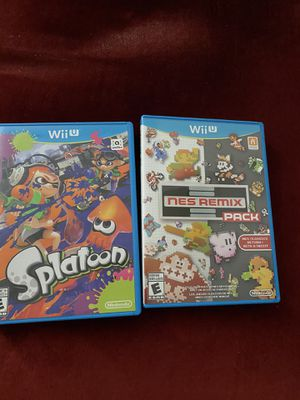 Splatoon + Nes Remix Pack for Wii U for Sale in Westminster, CA