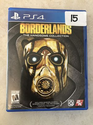 PlayStation 4 / PS4 game BORDERLANDS for Sale in Phoenix, AZ