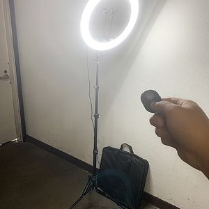 "(NEW) $90 each LED 17"" Ring Light Photo Stand Lighting 50W 5500K Dimmable Studio Video Camera for Sale in El Monte, CA"