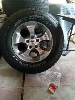 Brand new Jeep Wrangler Limited stock wheels for Sale in Chino, CA