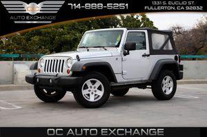 2011 Jeep Wrangler for Sale in Fullerton, CA