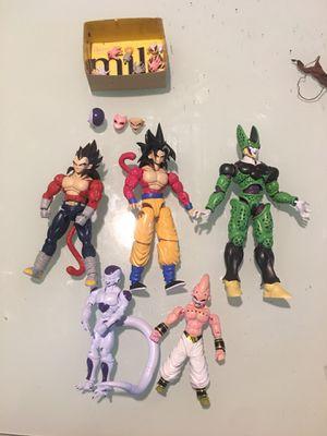 Dragon ball z figures for Sale in Philadelphia, PA