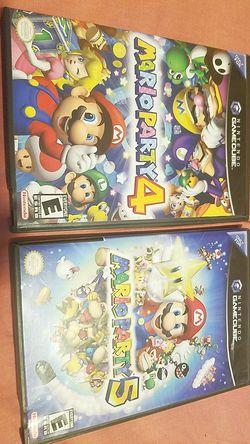Mario party 4,5 for Sale in Miami,  FL