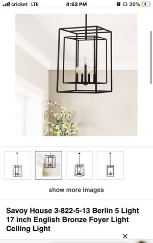Brand new chandelier for Sale in New Lenox, IL