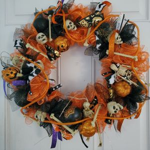 Scary skull wreath for Sale in Kansas City, MO
