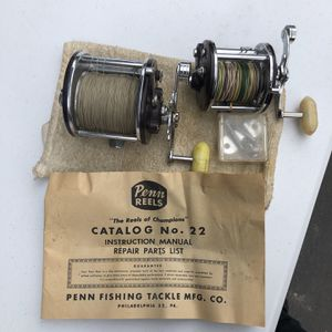 Penn Round Bait casting Reels for Sale in San Ramon, CA