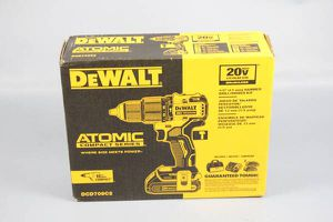 "NEW Dewalt DCD709C2 ATOMIC 20V MAX Li-ion Brushless 1/2"" Hammer Drill/Driver Kit for Sale in Lynn, MA"