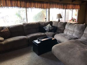 3 part Sectional couch. 9'x9' for Sale in Pleasanton, CA