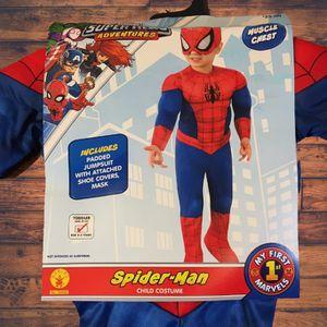 Toddler Marvel Spider-Man Halloween Costume Jumpsuit - 3T-4T for Sale in San Antonio, TX