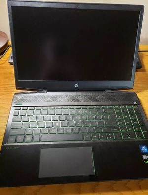 Hp pavilion gaming laptop 15.6 core i5-8300h GTX 1050 for Sale in Southfield, MI