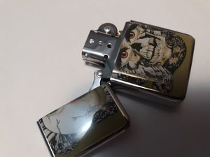 Cool Skull windproof oil lighters #13 for Sale in Lancaster, OH