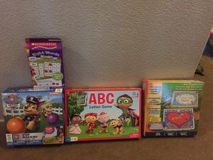 Kids Games: Super Why ABC Letter Game, Paw Patrol, Sight word, Stepping Stones for Sale in Gilbert, AZ