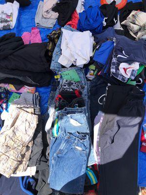 Size 6 boys clothes pile for Sale in Albuquerque, NM