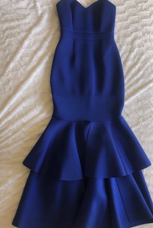 Royal blue prom gown for Sale in Columbia, SC