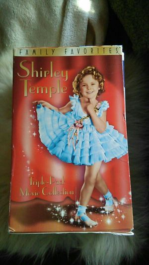 3 SHIRLEY TEMPLE MOVIES $5 VHS for Sale in Milton, FL