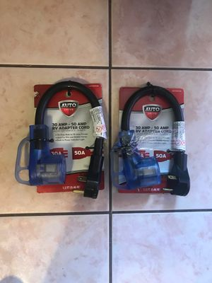 RV PARTS- 30 AMP - 50 AMP RV ADAPTER CORD for Sale in El Paso, TX