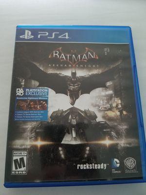 Batman Arkham Knight (PS4) for Sale in Paint Rock, TX