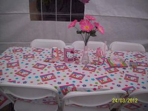 Hello Kitty vintage table covers & decorstions starting 5 dollars and up for Sale in Los Angeles, CA