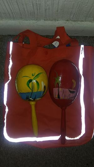 2 Maracas made in Mexico (Hand painted) for Sale in Riverview, FL
