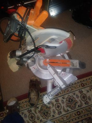 RIDGID siera. Miter da for Sale in Forest Heights, MD