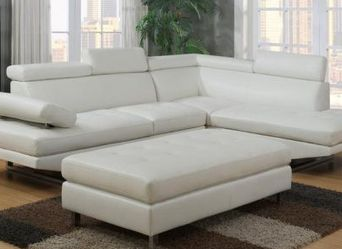 IBIZA LEATHER GEL SOFA WITH OTTOMAN SET!!! NO CREDIT NEEDED!!! ONLY $50 DOWN!!! SAME DAY DELIVERY!!! LAYAWAY OPTIONS!!! for Sale in Clearwater,  FL